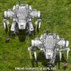 Heavy Lift Loader Drone Mecha
