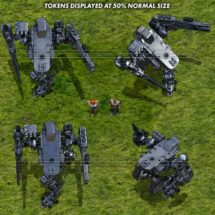 Light Combat Drone - Mecha Tokens