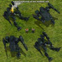 Light Combat Drone (Jungle) - Mecha Tokens