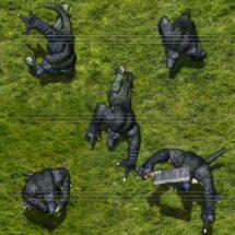 Lizard Man - Monster Tokens