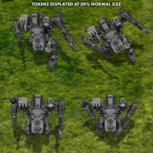 Light Combat Drone (Navy) - Vehicle Tokens