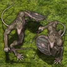 Feral Wererat - Monster Token Set