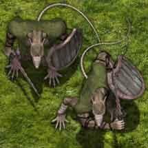 Village Wererat - Monster Character Tokens - Studio WyldFurr