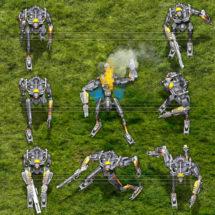 Antikythera Systems Robot (Steel)