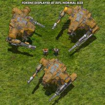 Assault Bot (Desert) - Battle Mecha Tokens