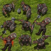 Bruin Orc Warlord - Monster Tokens