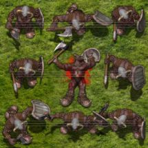 Grijis Orc Warrior - Monster Tokens