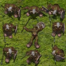 Groen Orc Warrior - Monster Tokens