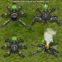 Spider Mecha - Vehicle Tokens