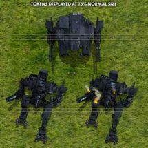 Battle Mecha - Vehicle Tokens