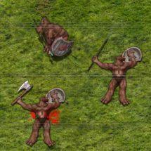 Bruin Orc Peasant - Monster Tokens - Studio WyldFurr