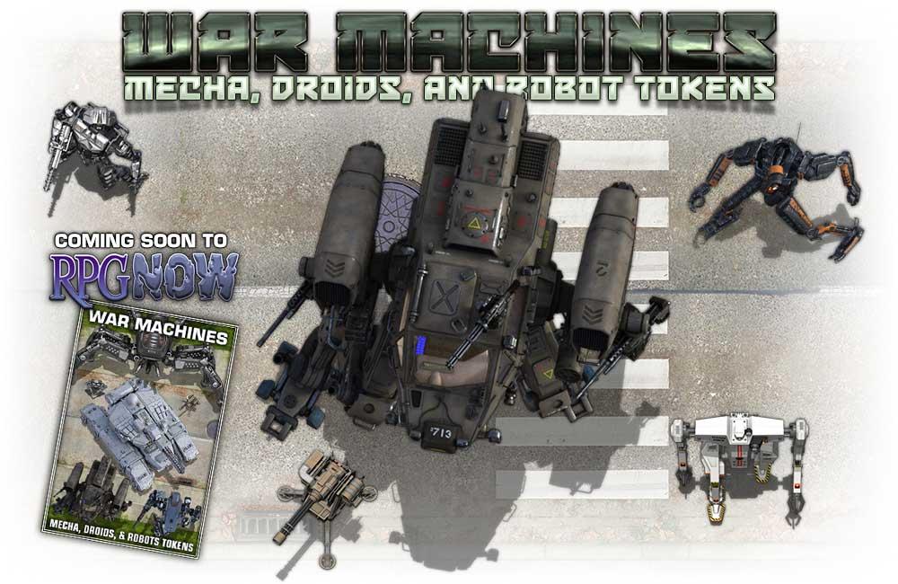 War Machines Token Pack