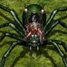 Goblin Spider Rider (Caverna Tribe)