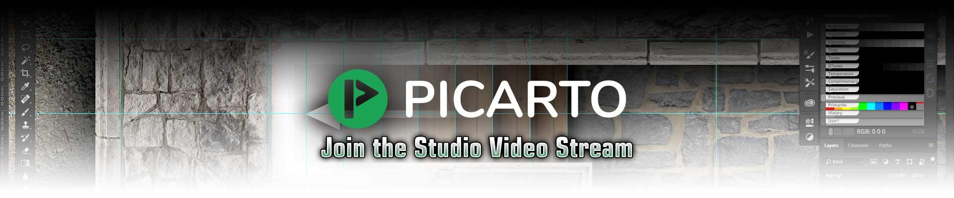 Studio Video Stream on Picarto.tv