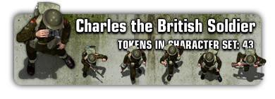 Sample: Charles the British Soldier