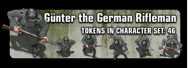 Sample: Gunter the German Rifleman