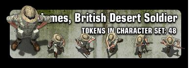 Sample: James the British Soldier