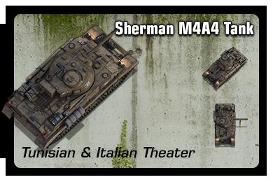 Sample: Sherman M4A4 Tank (Desert)