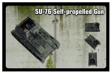 Sample: SU-76 Self-propelled Gun