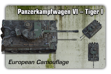 Sample: Tiger I - European Camouflage