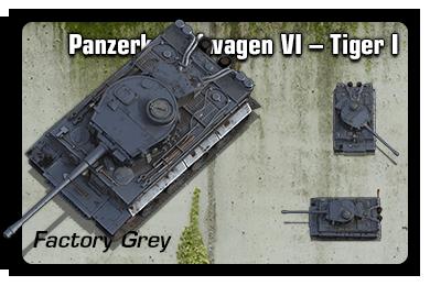 Sample: Tiger I - Factory Grey