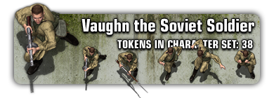 Sample: Vaughn the Soviet Soldier
