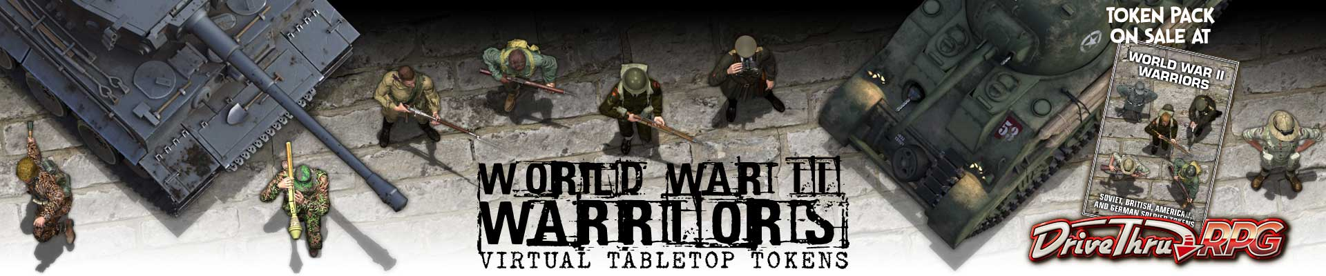 World War II Warriors Token Pack