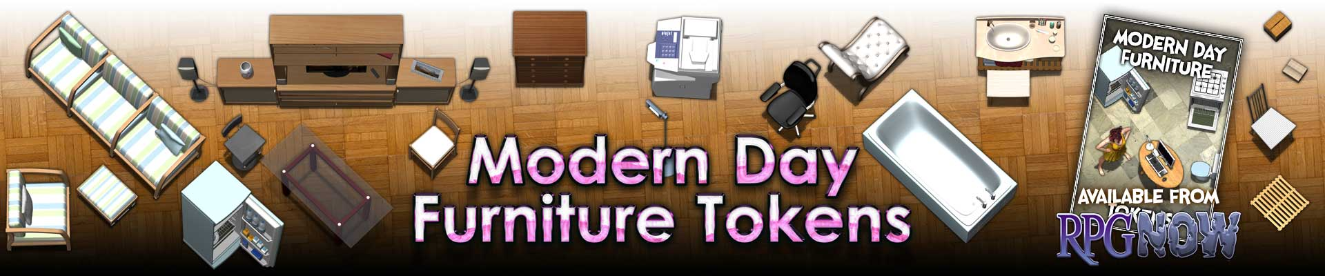 Modern Day Furniture Tokens