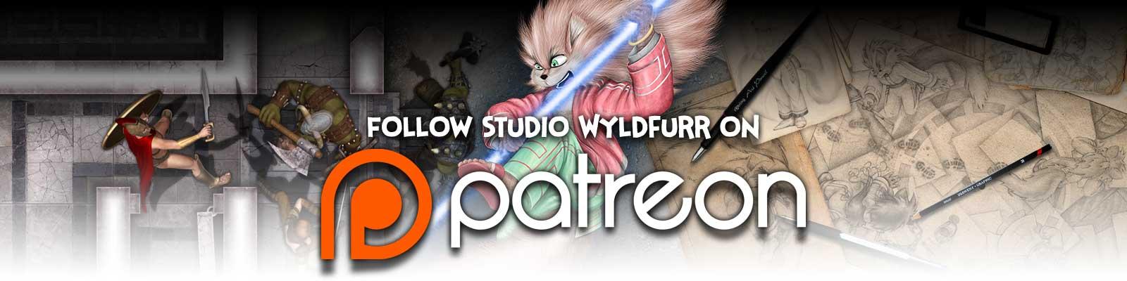 Follow Studio WyldFurr on Patreon