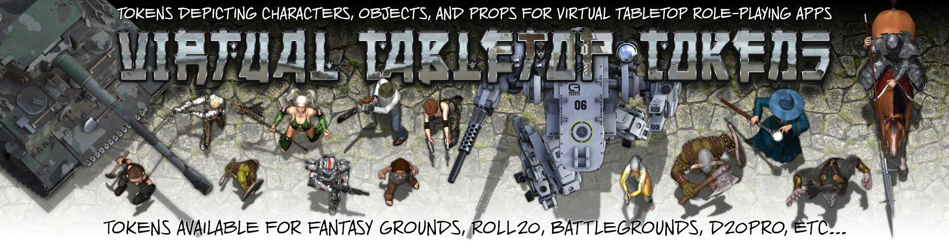 Virtual Tabletop Tokens