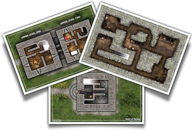 Tower of Markus Battle Maps