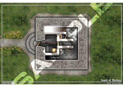 Sample: The Tower of Markus Battle Maps