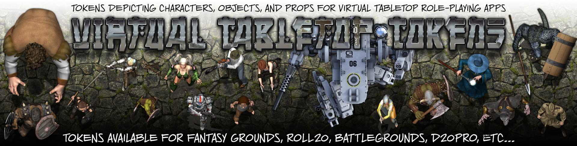 Virtual Tabletop Tokens