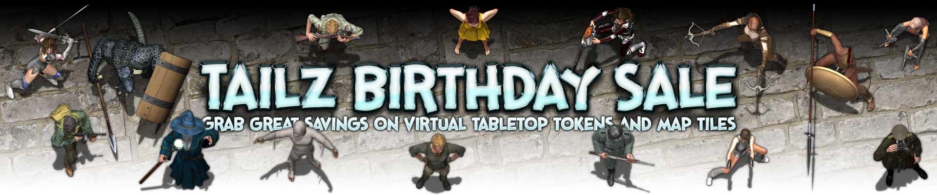 Tailz Birthday Sale