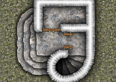 Dungeon Map Tiles IV