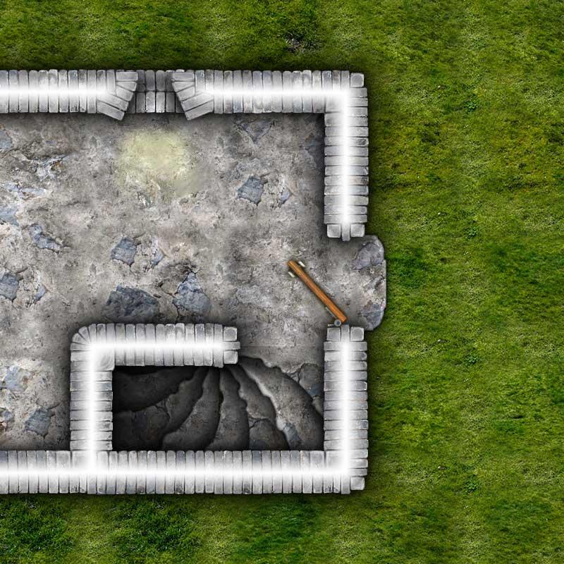Dungeon Map Tiles IV Sample
