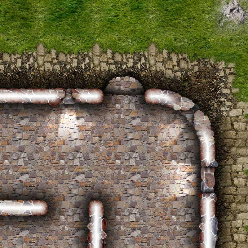 Dungeon Map Tiles II Sample Image #3