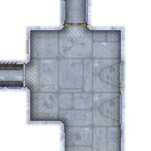 Sci-fi Map Tiles Sample