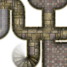 Dungeon Map Tiles V