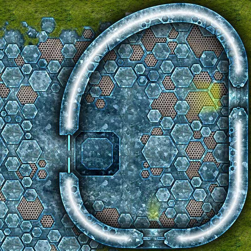 Alien Hive Map Tiles Sample #1