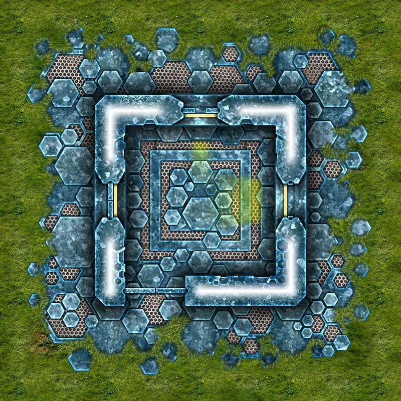 Alien Hive Map Tiles Sample #2