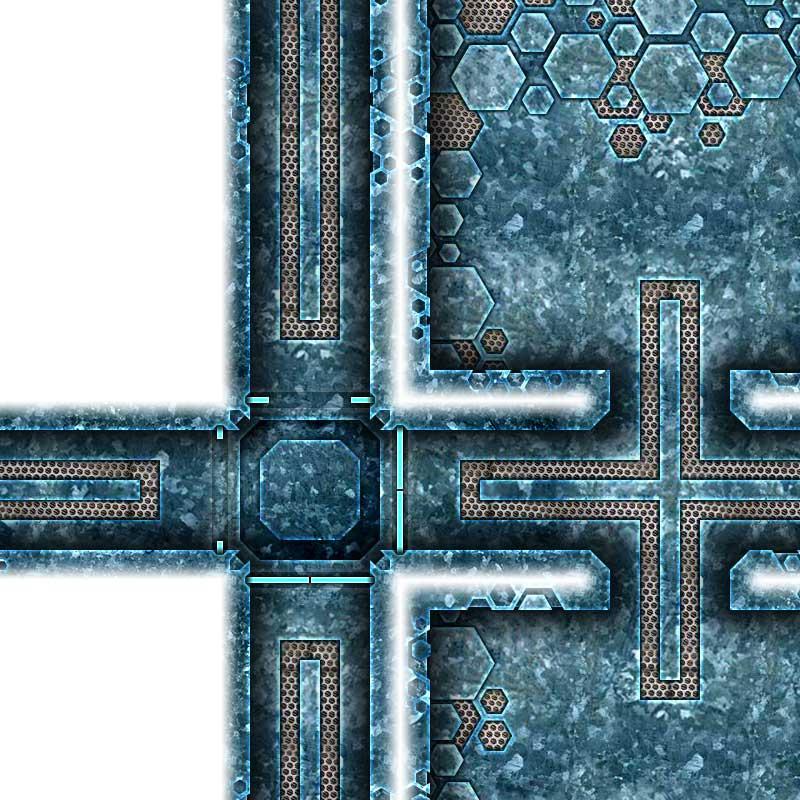 Alien Hive Map Tiles Sample #3