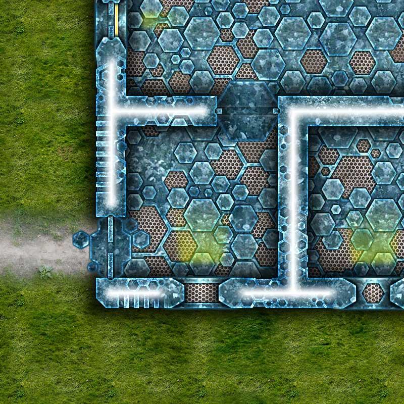 Alien Hive Map Tiles Sample #4