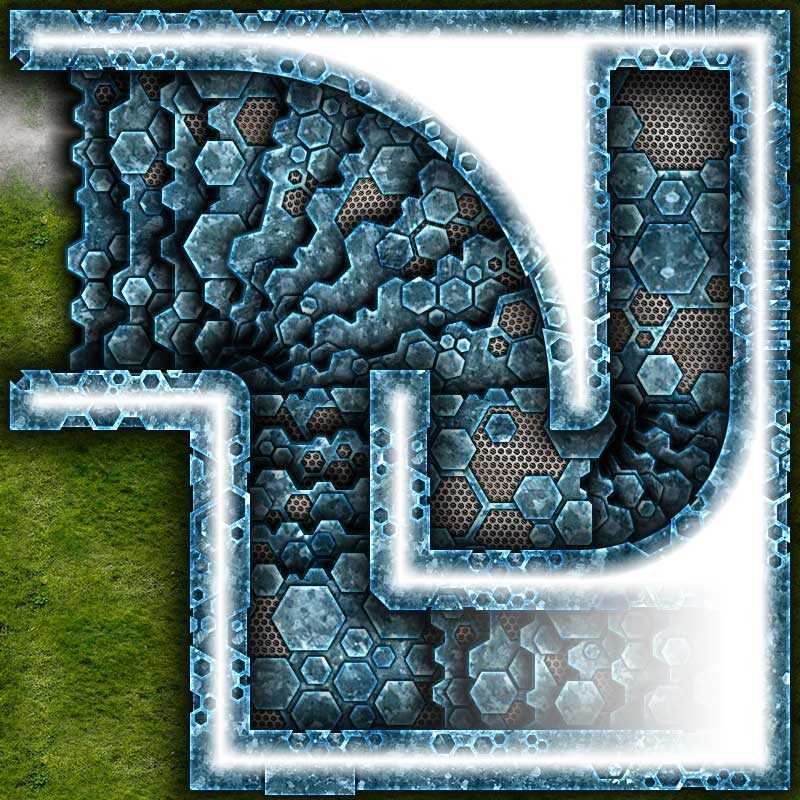 Alien Hive Map Tiles Sample #6