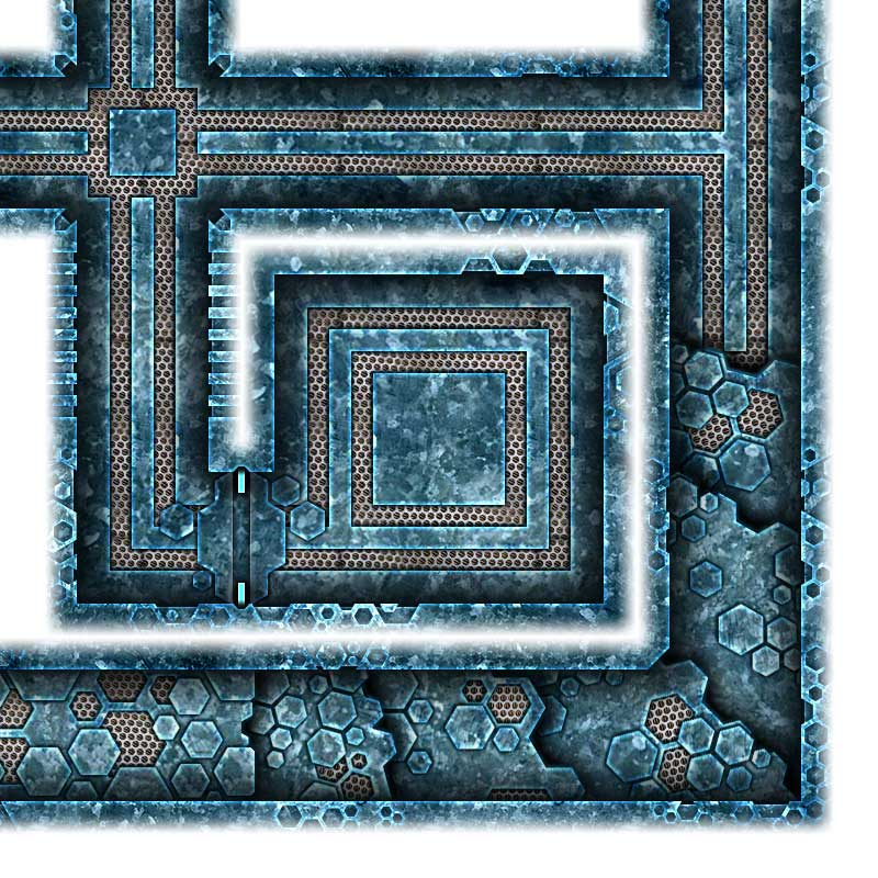 Alien Hive Map Tiles Sample #7
