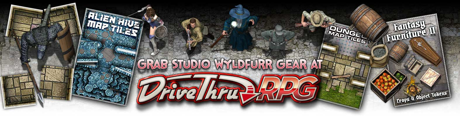 Grab Studio WyldFurr Gear at DriveThruRPG