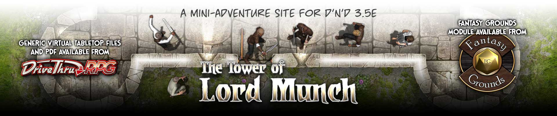The Tower Lord Munch - A D&D Mini-adventure