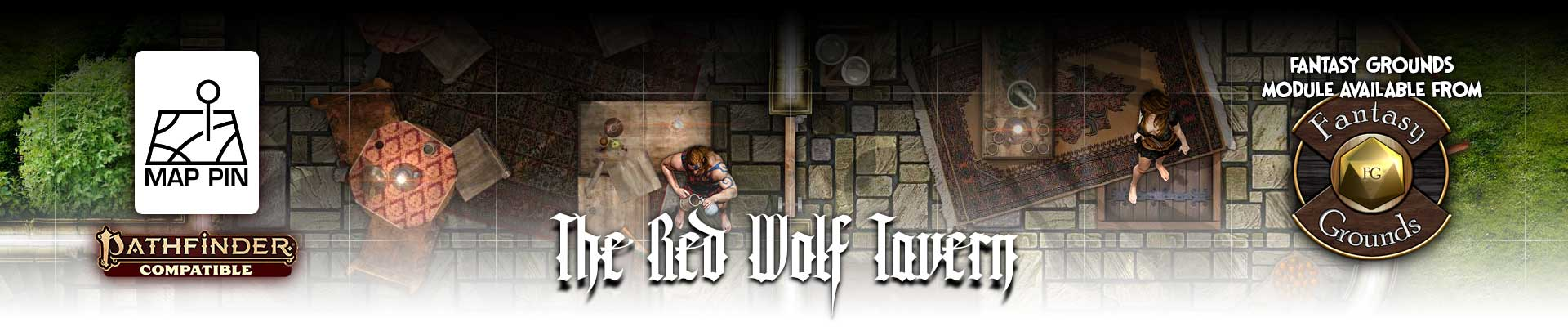 Map Pin - The Red Wolf Tavern