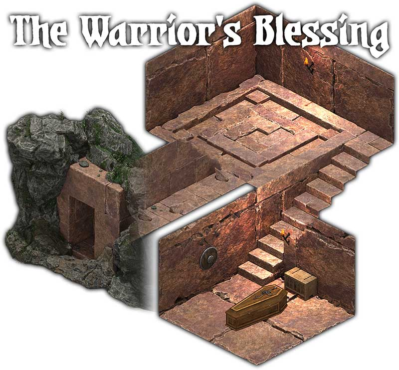 The Cube: The Warrior's Blessing