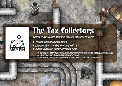 Map Pin - The Tax Collectors